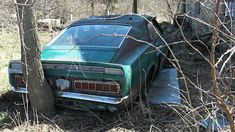How many times have you been surprised by a field find? I have seen a few interesting field finds in my time, but never anything as significant as this 1969 Mustang Shelby Having three owners in its short. Ford Mustang Shelby Cobra, Mustang Fastback, Mustang Cars, Ford Shelby, Ford Mustangs, Hot Rods, Junkyard Cars, Abandoned Cars, Abandoned Property