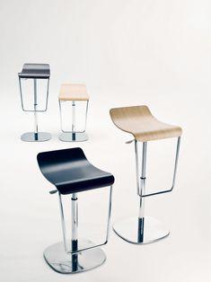 lighter finish stool