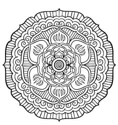 Coloring page from the ColorArt coloring app Mandala Coloring Pages, Colouring Pages, Adult Coloring Pages, Trippy Drawings, Zen Doodle, Art Pages, Asd, Colorful Pictures, Therapy