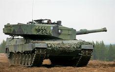 Scarica sfondi Leopard 2A4, carro armato tedesco, verde mimetico, moderni veicoli blindati, 4k, esercito