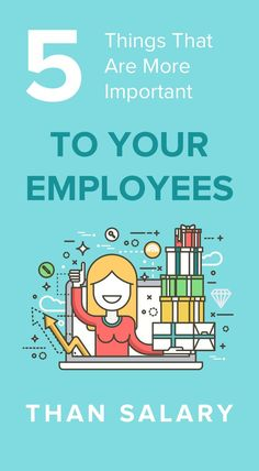 While most employees certainly won't shy away from a bonus, these five factors are proven to be more effective than salary when it comes to increasing employee engagement. Employee Morale, Staff Morale, Workplace Motivation, Hiring Employees, Morale Boosters, Employee Retention, Employee Appreciation Gifts, How To Motivate Employees, Employee Engagement
