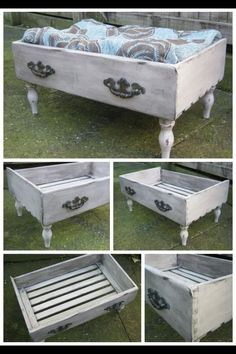 Voodoo Molly Vintage - Repurposed dresser drawer into Pet Bed- Bed drawer dres .Voodoo Molly Vintage - Repurposed dresser drawer into Pet Bed- Bed drawer dresser molly Pet repurposed Vintage door replica, vintage Old Drawers, Bed With Drawers, Dresser Drawers, Dressers, Dresser Drawer Crafts, Dresser Handles, Pet Furniture, Repurposed Furniture, Funky Furniture