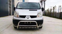 #Renault #Trafic 2007 - 2014 #Chrome Axle Nudge A-Bar, #BullBar   #eBay