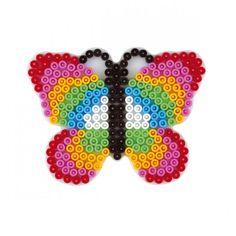 HAMA midi Bügelperlen-Stiftplatte weiß Nr.298 Schmetterling | eBay