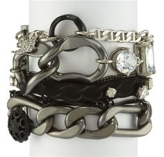 Juicy Couture Multi-Chain Bracelet. www.newchicboutique.com