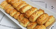 10 Great Tips On Cooking Meals Hungarian Recipes, Russian Recipes, Gourmet Recipes, Cooking Recipes, Biscuit Bread, Cheese Bread, Savory Pastry, Party Finger Foods, Christmas Baking