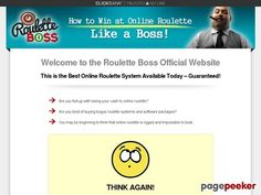 Roulette Boss – How To Win At Online Roulette Like a Boss! –