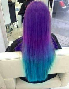 Long Colourful hair