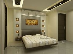 6 Healthy Cool Tricks: False Ceiling Design With Wood false ceiling design double height.False Ceiling Living Room Home false ceiling design awesome.False Ceiling Design For Salon. Bedroom False Ceiling Design, Master Bedroom Interior, Bedroom Bed Design, Bedroom Ceiling, Modern Bedroom Design, Home Interior, Home Ceiling, Interior Design, Ceiling Ideas
