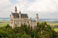 The Most Beautiful Castle – Neuschwanstein Castle, Germany.