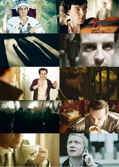 Sherlock -- The Reichenbach Fall