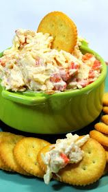 Smoked Gouda Pimento Cheese Dip (S) (THM'rs do not use these chips, eat with veggies or make crackers from the book)