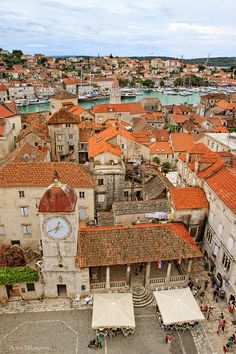 Trogir, Croatia. Had a chance to see this beautiful place in person. Charming city.