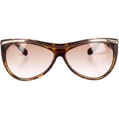 Pre-owned Gucci Tinted Tortoiseshell Sunglasses ($95) ❤ liked on Polyvore featuring accessories, eyewear, sunglasses, brown, gucci, gucci eyewear, tinted glasses, tortoise shell sunglasses and brown sunglasses