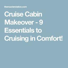 Cruise Cabin Makeover - 9 Essentials to Cruising in Comfort!