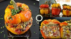 Vegetarian Stuffed Bell Peppers – Bruno Albouze – THE REAL DEAL