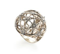Anel de Ouro Nobre 18K com diamantes - Coleção Galilei Link:http://www.hstern.com.br/joias/p-produto/A1B194962/Anel/galilei/anel-de-ouro-nobre-18k-com-diamantes---colecao-galilei