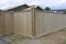 Pailing Fences - Vogel Fencing Christchurch