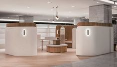 Beauty in B.W / LABOTORY Completed in 2018 in Gangnam-gu South Korea. Images by Choi Yong Joon. Beauty in B.W is a womens wellness editor shop to deliver healthy beauty for women who are keeping balance between work and life. This brand was. Shop Interiors, Office Interiors, Hospital Design, Retail Store Design, Retail Stores, Retail Interior, Retail Space, Commercial Interiors, Interior Architecture