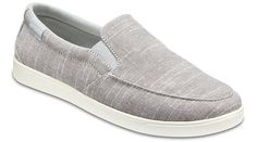 Sport the vintage sneaker-inspired women's slip-ons featuring soft, breathable canvas uppers and twin stretch panels. Shop our sleek Women's CitiLane Low Slip-Ons.