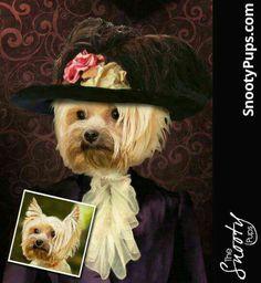 So #fancy! #doglover #custompetportrait #etsyseller #petart #bestgiftever #dogsofinstagram #birthdaygift