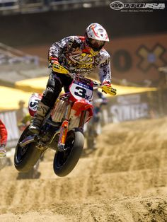 Jeff Ward finished seventh in SuperMoto X. He said this will be the last time he competes in X Games Supermoto.