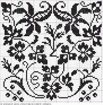 Crochet Chart, Filet Crochet, Crochet Motif, Crochet Stitches, Crochet Patterns, Crochet Curtains, Tapestry Crochet, Cross Stitch Designs, Cross Stitch Patterns