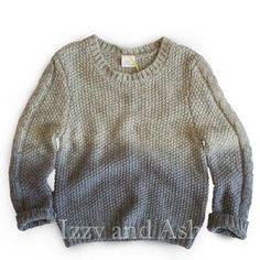 Egg Eli Sweater Boys Ombre Sweater Blue Ombre Sweater Designer Boys…