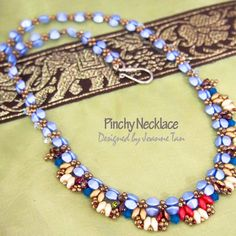 Pinchy Necklace | JewelryLessons.com