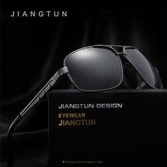 JIANGTUN New Polarized Sunglasses Men Brand Designer 2017 Driving Sun Glasses Eyewear Male Sunglass Shades Oculos De Sol
