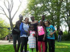 het liefste ben ik altijd samen met familie