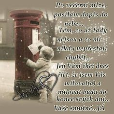 A tak si tady žijeme. Forever Love, Love You, Memories, Words, Quotes, Life, Sadness, Merry Christmas, Humor