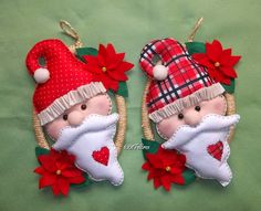 Guirlanda Papai Noel e bazar.