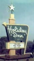 I may or may not have a little Holiday Inn memorabilia disorder.