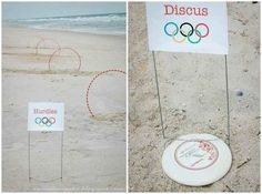 Dollar-store stuff can also be used to make your own backyard (or beach) Olympics.