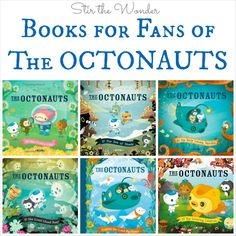 The six original The Octonauts books written by MEOMI are really well written stories with awesome illustrations and are the inspiration for the cartoon.