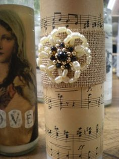 Reloved Rubbish: Crowns, Jewels and Sheet Music