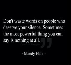 Powerful words quote.
