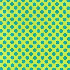 Cx1492 Ta Dot basics ovals circles polka dots geometrics cabana lagoon turq lime aqua calypso carribbean