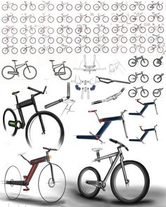 the Urban Folding Bike by Ryan Mather at Coroflot.com