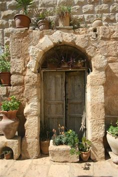 Old Doors of Madaba by razanfakhoury, via Flickr