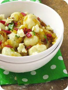 The creative pot: rainbow chard gnocchi Rainbow Chard, Veggie Patch, Comfort Food, Fabulous Foods, Potato Salad, Macaroni And Cheese, Good Food, Veggies, Healthy Eating