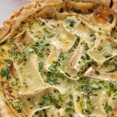Brie and Broccoli Quiche by Ree Drummond