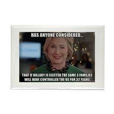 Clinton, Obama & Bush dynasty Magnets #magnet #politics #election2016 #USA