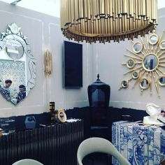 Between the Mid Century and the Contemporary Design at Decorex 2015 Decorex2015news #Decorex2015 #DecorexNew #MakingLuxury See more:  http://www.brabbu.com/en/news-events/