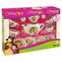 Masha teás készlet Toys R Us, Lego, Lunch Box, Barbie, Playmobil, Bento Box, Legos, Barbie Doll