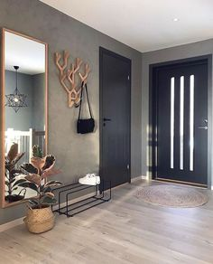 7882 Likes 102 Comments Malene Foss ( Entryway and Hallway Decorating Ideas Comments concrete Fos Foss husefjel Likes Malene Decor Room, Living Room Decor, Bedroom Decor, Home Decor, Nordic Living Room, Bedroom Furniture, Hallway Decorating, Entryway Decor, Decorating Blogs