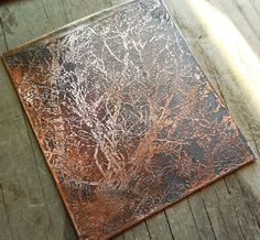 Tute: using photographs to create etching plates