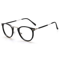 00bbaafdfe6 AOFLY New Style Men and women Fashion Vintage Eyeglasses Frame Optics Clear  lens Reading Glasses Retro