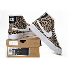 new product 516b6 1b96b Nike SB Blazer High Leopard Shoes Women, yes!